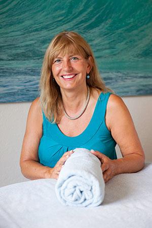 Portrait Andrea Flury, Lymphdrainage und Massage